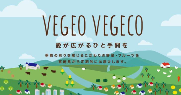 自分はVEGEO VEGCOの野菜を定期購入しています。